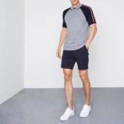 River Island Navy chino shorts