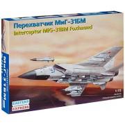 "Modellino Aereo MiG-31 BM jet INTERCEP ""Foxhound"" Russ. Scala 1:72"