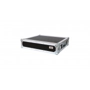 "AWEO 2 HE Amp Rack 19"" Double Door 45 CM Flightcase 7 mm MPX Butterfly"
