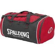 Spalding Sporttasche TUBE SPORTBAG - rot/schwarz/weiß   M