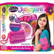 Cra Z Art Jelly Yarn Bubble Gum Blast Purse