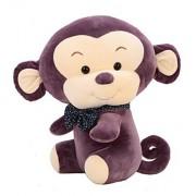 Lovely Monkey Gift Plush Puppy Animal Toy Stuffed Animals Plush Toy, Purple