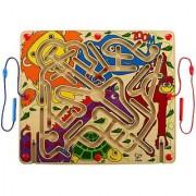 Hape - Zoom Magnetic Wooden Maze Puzzle
