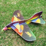 Imported 1pc Kids Foam Flying Glider Planes Toys Random Color