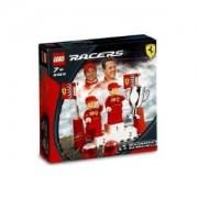 Lego Racers - Ferrari Set Michael Schumacher & Rubens Barrichello