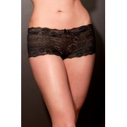 Lingerie Letters Black Boy short