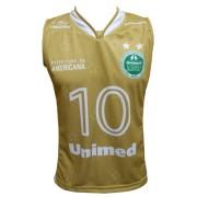 Camisa Basquete Americana Dourada Unissex - M