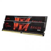 G.SKILL Aegis F4-2400C15D-16GIS Memoire RAM DDR4 2400 CL15-15-15-35 16 Go
