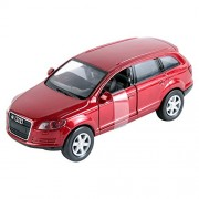 NewRay 1:32 Scale Audi Q7 Friction Die-Cast Model Car, Multi Color