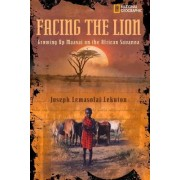 Facing the Lion by Joseph Lemasolai Lekut