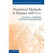 Numerical Methods in Finance with C++ by Maciej J. Capi?ski