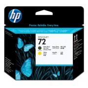 Cabeça de Impressão HP 72 C9384A Matte Black   Yellow   T610   T790   T1100   T2300   L3S82A