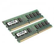 Crucial 2GB DDR2 667MHz CL5 PC2-5300 UDIMM 240pin ECC