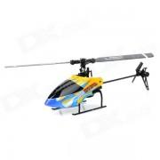 SH 6050 USB recargable de 6 canales R / C Helicopter w / control remoto - Amarillo + Negro + Bue