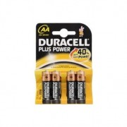 4 Batterie Pila Duracell Stilo AA Plus Power MN 1500 Originale in Blister X4