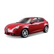 Mac Due Bburago 18-21071 - Alfa Romeo Giulietta Star 1:24, Colori Assortiti: Bianco / Rosso