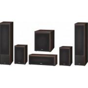Pachet 5.1 Magnat Monitor Supreme 1002 + 102 + Center 252 + Sub 302A Mocca Bonus Boxa Portabila Bluetooth Maxell + Casti Maxell Super Slim