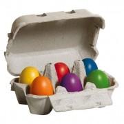 Vejce barevá v krabičce