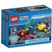 Конструктор Лего Сити - Дълбочинен скуба скутер - LEGO City, 60090