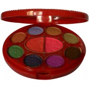 ADS ADS-8Eyeshadow::2Blusher::2CompactPowder::4LipColor::1Puff::1Mirror::Makeupkit(Pack of 1)