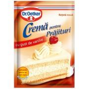 Crema pentru prajituri - Vanilie - 50g