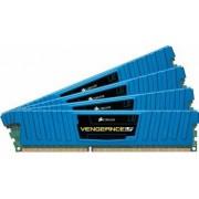 Memorie Corsair Vengeance LP Blue 32GB Kit4x8GB DDR3 1600MHz CL10