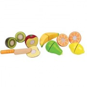 Hape - Playfully Delicious - Fresh Fruit Wooden Play Food Set