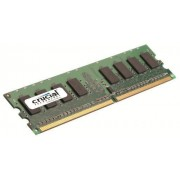 Crucial CT25664AA800 Mémoire RAM 2 Go DDR2 800 MHz (PC2-6400) CL6 Unbuffered UDIMM 240pin