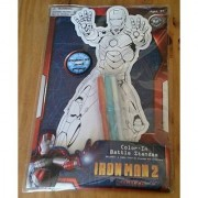 Iron Man 2 Color-in Battle Standee