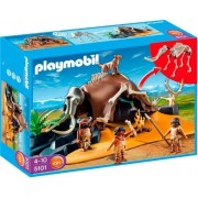 Playmobil 5101 Mammoth Skeleton Tent with Cavemen by Playmobil