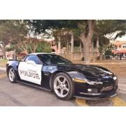 Maisto - 1/18 - Chevrolet - Corvette Z06 - Police 2001 - 31383w-Maisto