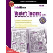 Notebook Reference Webster's Thesaurus by American Education Publishing