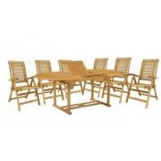 Set masa si sase scaune HECHT CAMBERE