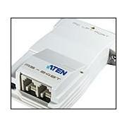 ATEN AS248T :: предавател за Printer Network през телефонна линия - 8 принтера / 64 компютъра