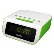 Ébresztőórás rádió zöld színű LED kijelzővel SRC 135