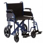 sedia a rotelle / carrozzina pieghevole di transito plus go