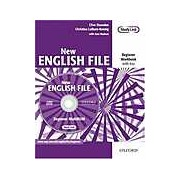 New English File Beginner Workbook with Answer Booklet and MultiROM Pack