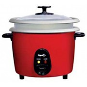 Pigeon JOY Unlimited 1.8DX Electric Rice Cooker with Steaming Feature(1.8 L, Red)