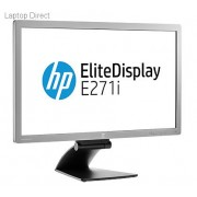 "HP EliteDisplay E271i 27"" IPS LED Backlit Monitor."