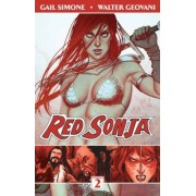 Red Sonja Volume 2: The Art of Blood and Fire by Gail Simone