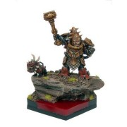 Kings Of War: Abyssal Dwarf King Chaos Dwarf By Mantic Entertainment