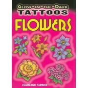 Glow-in-the-Dark Tattoos Flowers by Charlene Tarbox