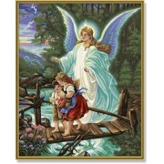 """Schipper - 9130364 - Peinture au Numéro Ange gardien """"Malen nach Zahlen Dein Schutzengel"""" - 40 x 50 cm"""