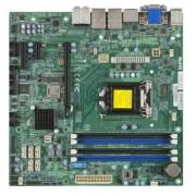Supermicro MBD-X10SLQ-B - Scheda Madre, Socket LGA 1150 (memoria DDR3, porte: 1x PCI-e 3.0, 6x SATA III, 4x USB 3.0)