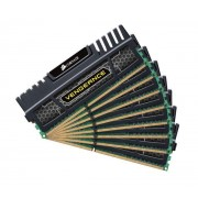 Vengeance Series 64 Go (8 x 8 Go) DDR3 1866 MHz CL9 - Kit Quad Channel DDR3 PC3-14900 - CMZ64GX3M8A1866C9 (gara