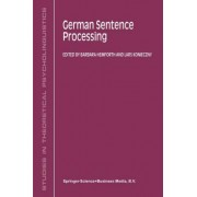 German Sentence Processing by Barbara Hemforth