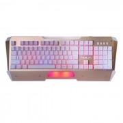 AULA NIMBLE EDGE retroiluminada USB con teclado de juego mecanico - oro