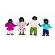 Plan Toys Doll House Ethnic Family #7416