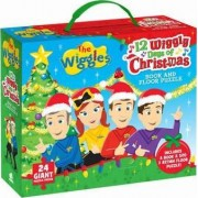 Wiggles 12 Wiggly Days of Christmas Book & Floor Puzzle