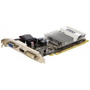 Msi R5450-MD1GD3H/LP, ATI Radeon HD 5450 Scheda Video, PCIe, 1 GB DDR3, Nero/Antracite